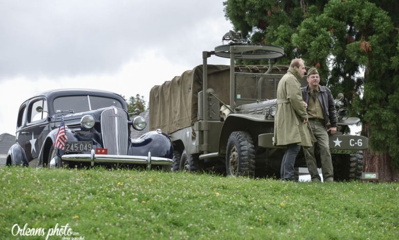 Des véhicules anciens pour la libération d'Orléans 1