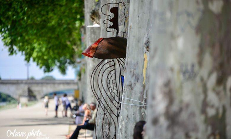 Notre image du jour :  il y a un intrus sur le quai Châtelet 1