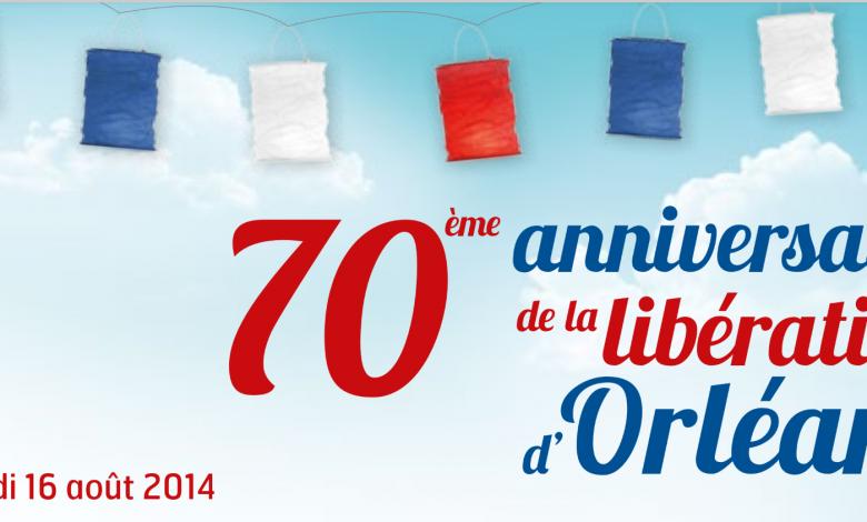 Aujourd'hui on fête les 70 ans de la libération d'Orléans. 1