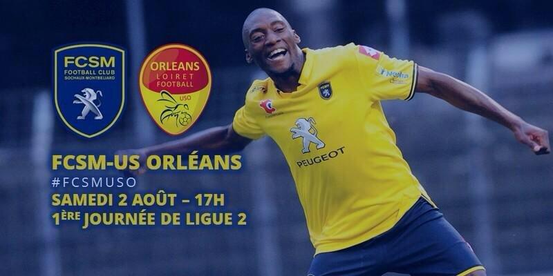 [Football, Ligue 2 / 1ére Journée] : FC Sochaux VS US Orléans Loiret Football 1