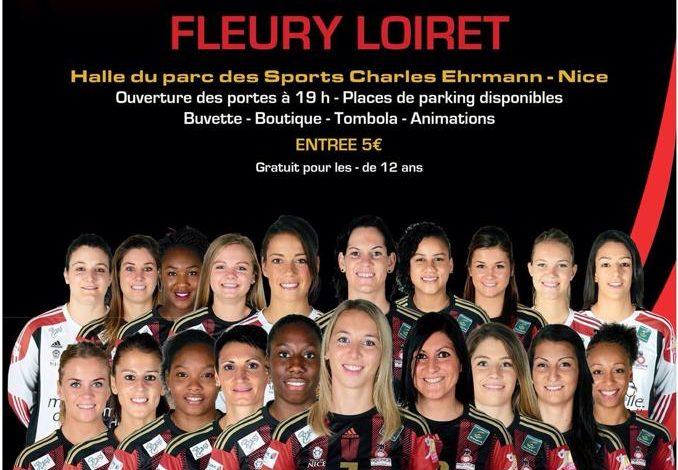 [Handball / LFH, 3éme Journée] : OGC Nice Côte d'Azur Handball 31-32 Fleury Loiret Handball 1