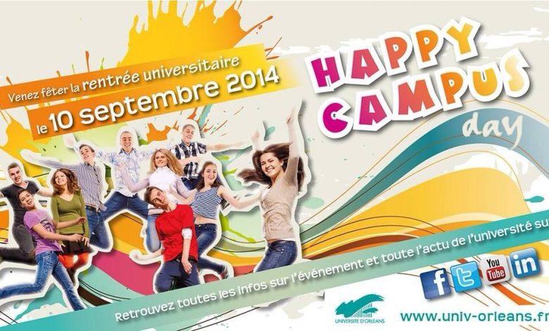 Viens faire la fête au Happy Campus Day d' Orléans 1