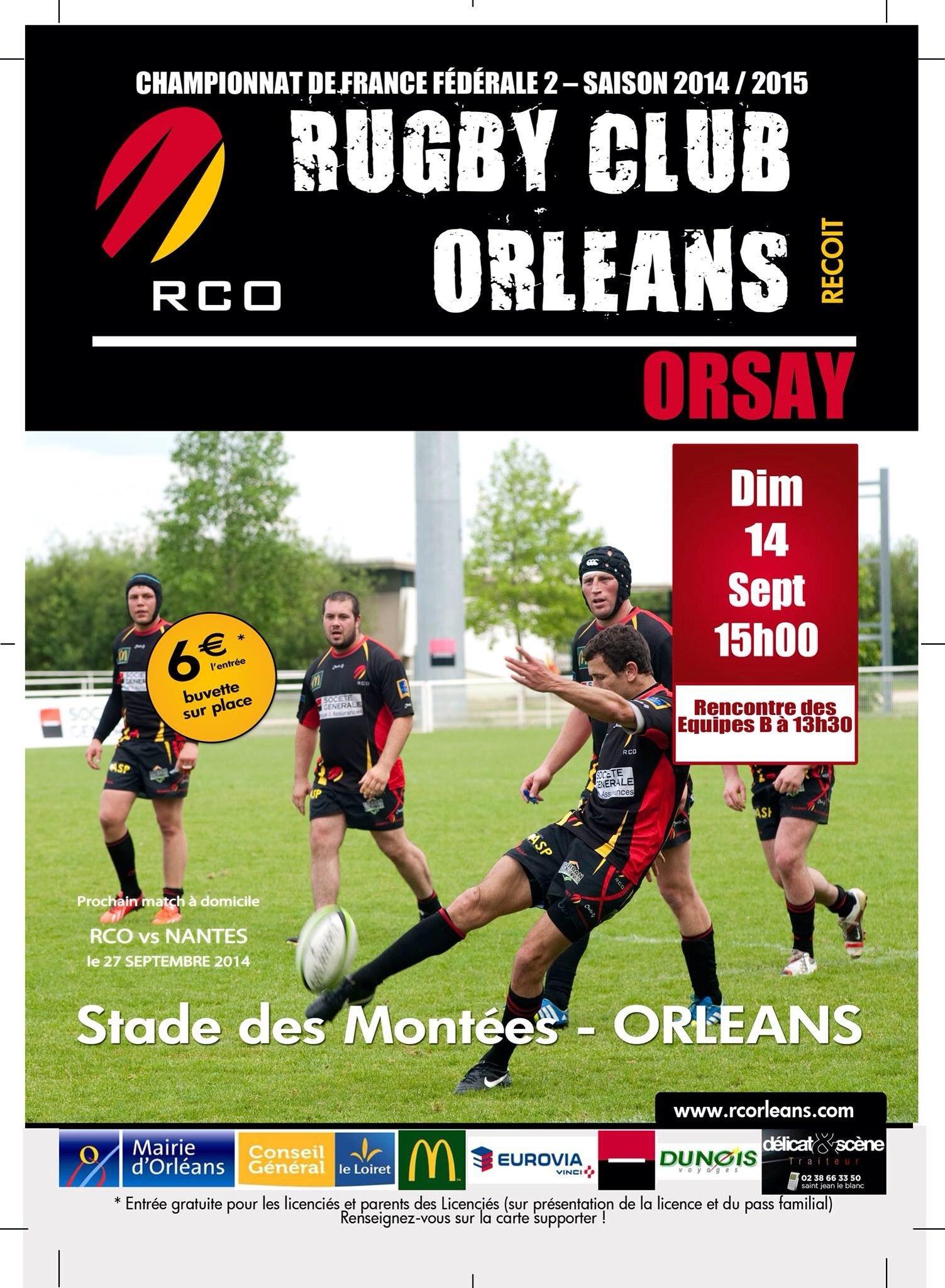 RCO - Orsay, ce dimanche le rugby est de retour 20