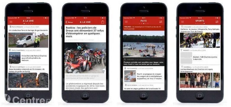 """L'application """"La Rép"""" s'installe sur votre iPhone et maintenant sur Androïd 1"""