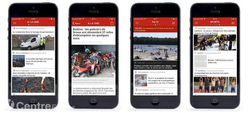 """L'application """"La Rép"""" s'installe sur votre iPhone et maintenant sur Androïd 8"""