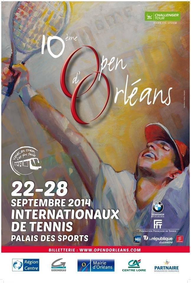 open orleans 2014 affiche tennis