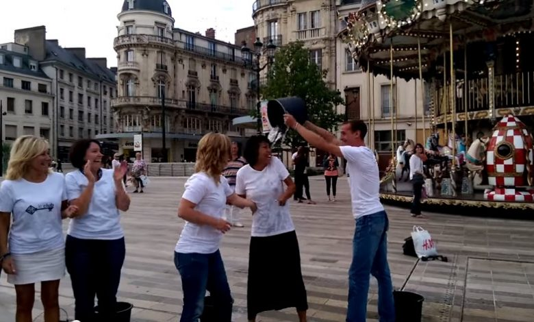 Le ALS Ice Bucket Challenge passe par Orléans 1
