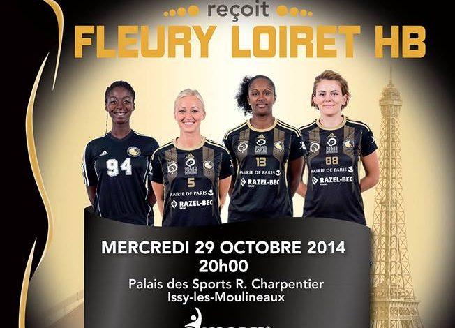 [Handball, LFH : 8éme Journée] : Issy Paris Hand 25-27 Fleury Loiret Handball 1