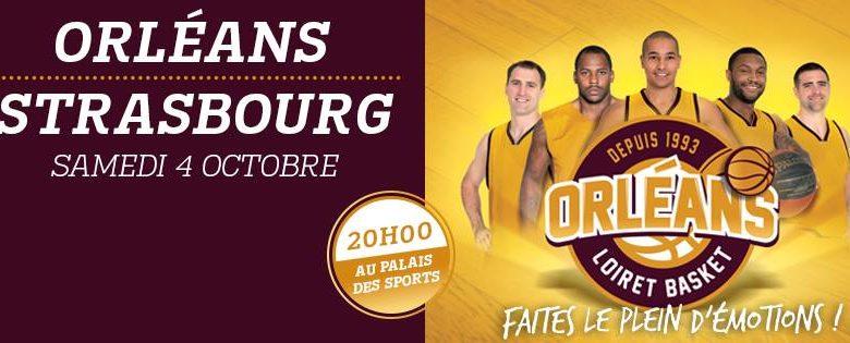 [Basket / Pro A, 2éme Journée] : Orléans Loiret Basket (15éme) VS Sig Basket (5éme) 1