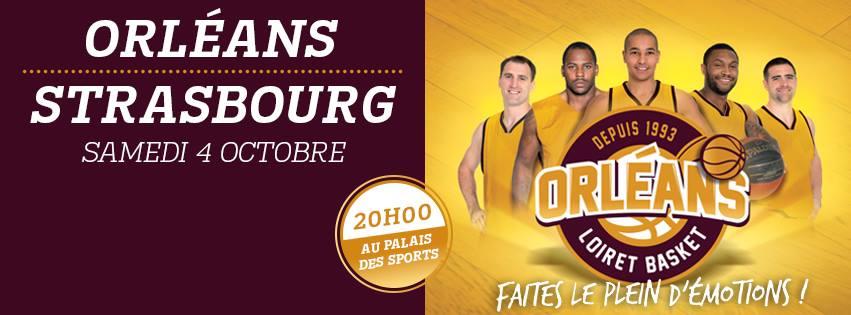 [Basket / Pro A, 2éme Journée] : Orléans Loiret Basket (15éme) VS Sig Basket (5éme) 2