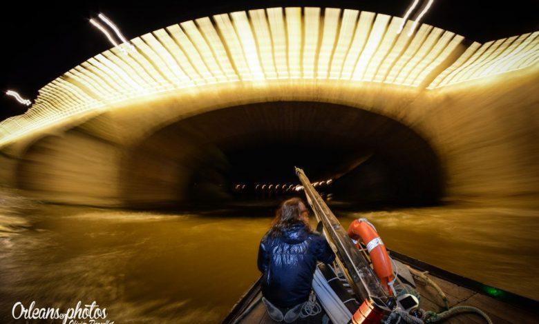 Photos du jour : passage sous le Pont Georges V à la vitesse de la lumière ou presque 1