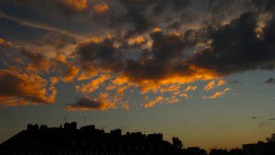 Photo de un soir d'octobre sur la Loire…