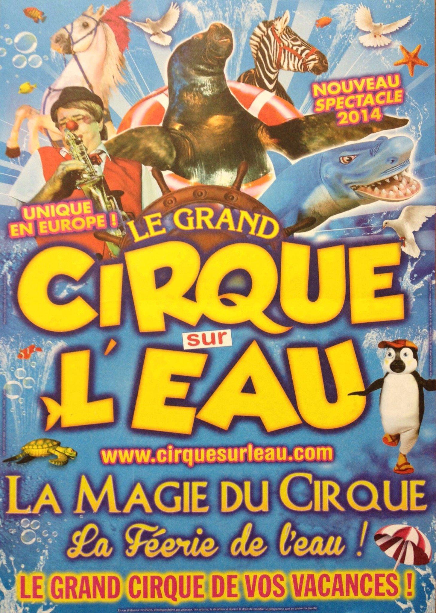 Le Cirque sur l'Eau au Parc Expo (vidéo et très bon plan) 12
