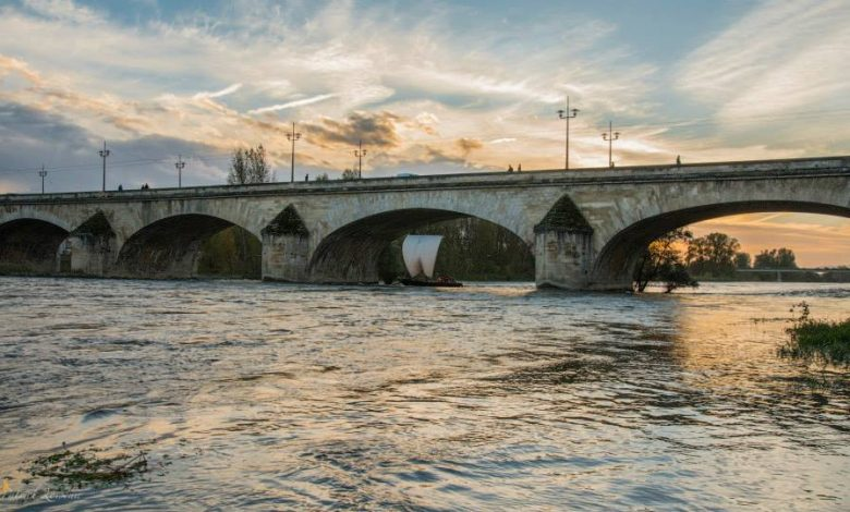 Une première sur la Loire hier en fin d'après-midi 1