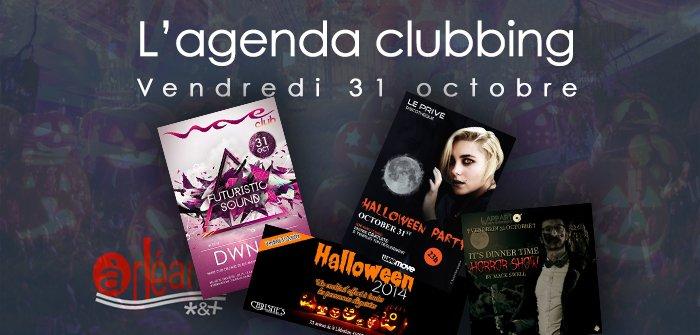 L'agenda clubbing du vendredi 31 octobre 5