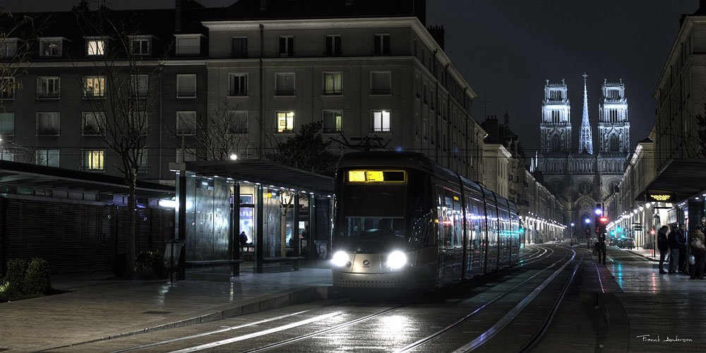 clown orleans fake franck anderson tramway nuit night