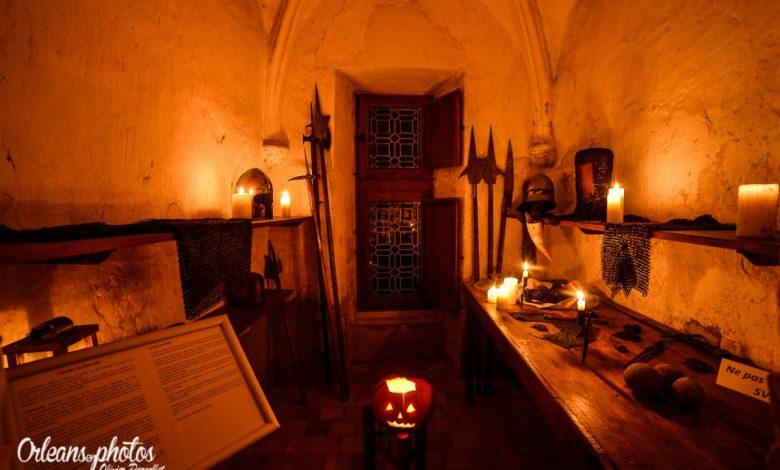Images du jour : Halloween dans le château de Beaugency 1