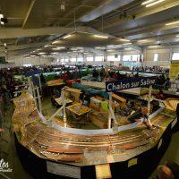 Quelques images du 14e salon du train miniature qui se tient au Parc Expo 6