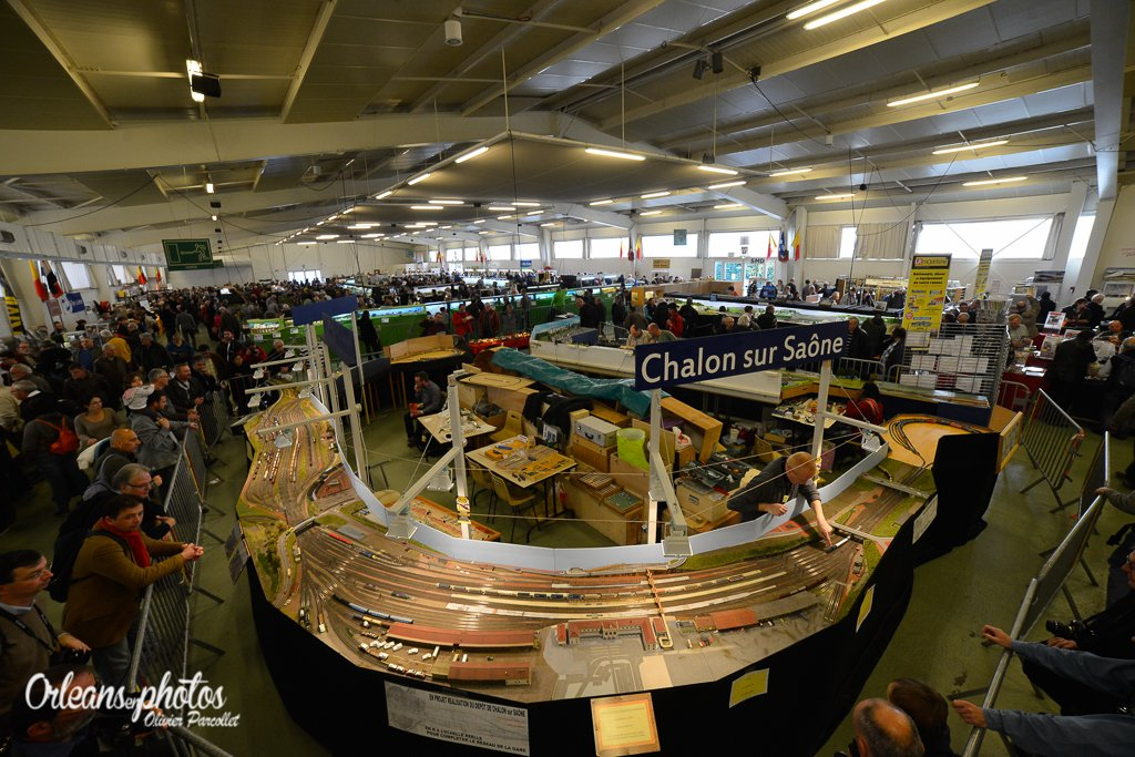 quelques images du 14e salon du train miniature qui se