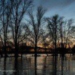 Sur la Loire à la tombée de la nuit 8