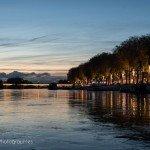 Sur la Loire à la tombée de la nuit 7