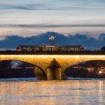 Sur la Loire à la tombée de la nuit 5