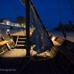 Sur la Loire à la tombée de la nuit 4