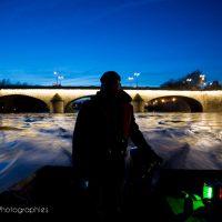 Sur la Loire à la tombée de la nuit 6