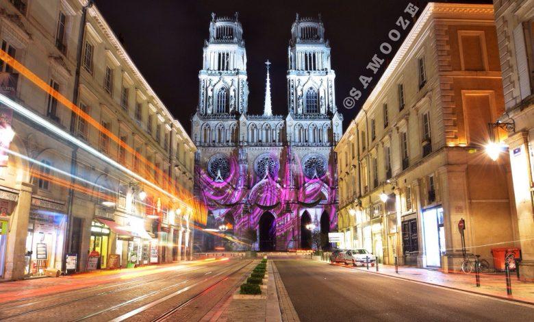 Illumination spéciale sur la Cathédrale 1