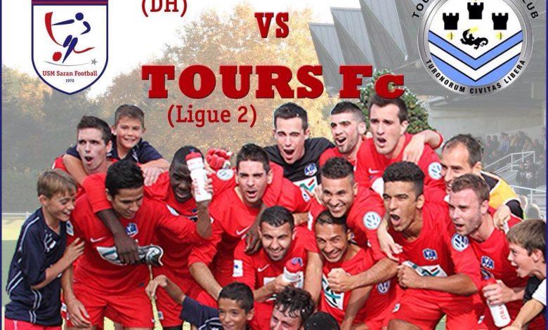 Tours, le match de l'année pour l'USM Saran Football 1