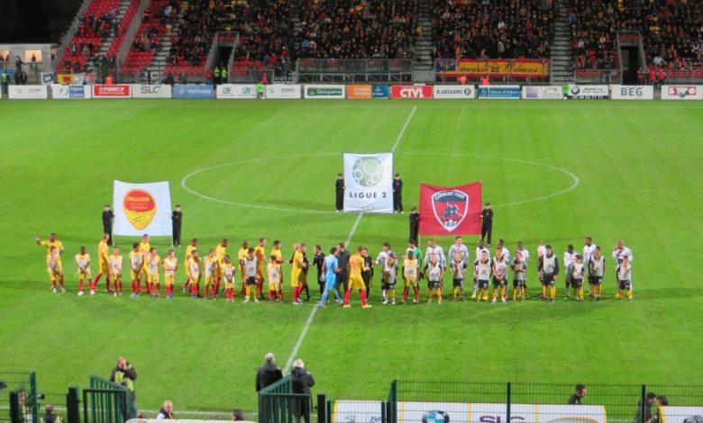 [Football : Ligue 2, 14éme Journée] : US Orléans Loiret Football Clermont  1