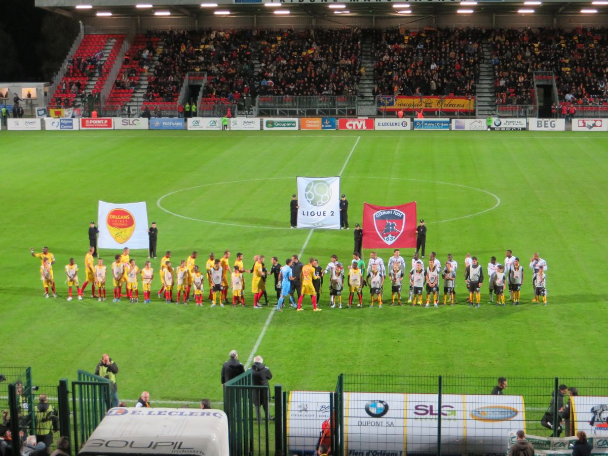 [Football : Ligue 2, 14éme Journée] : US Orléans Loiret Football Clermont  23