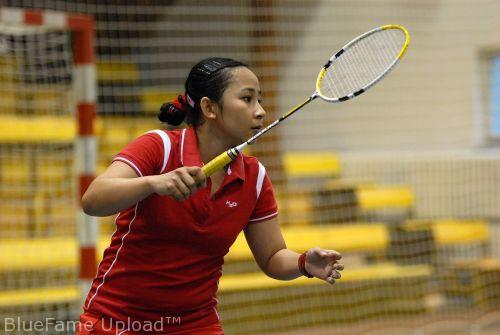 Huis clos pour l'Orléans Masters de Badminton 5