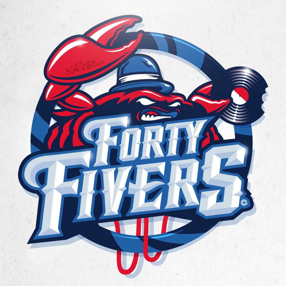 The Forty Fivers logo Orléans