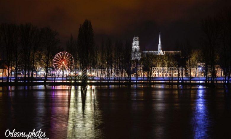 Panorama du quai Châtelet de nuit 1