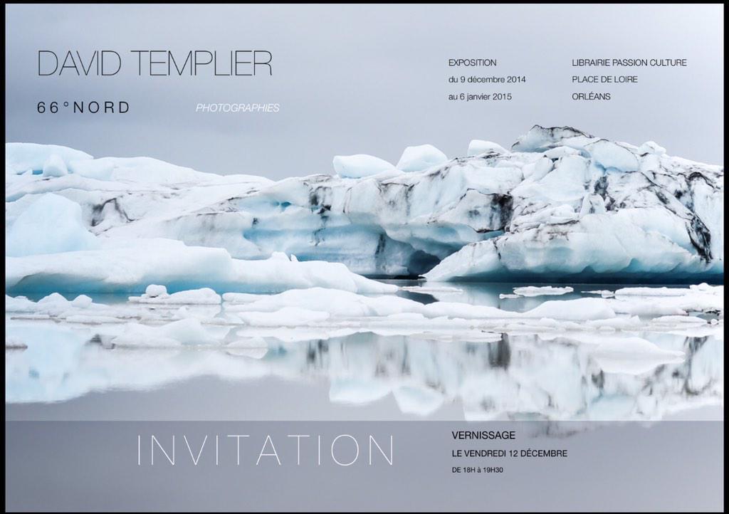 """L'exposition photographique """"66° NORD"""" de David Templier 6"""
