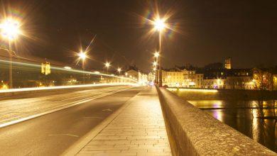Photo de Orléans à 20H et -20°, brrrrrrr !
