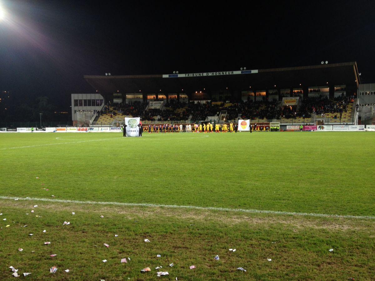 Le résumé de GFC Ajaccio - US Orléans Loiret Football 7