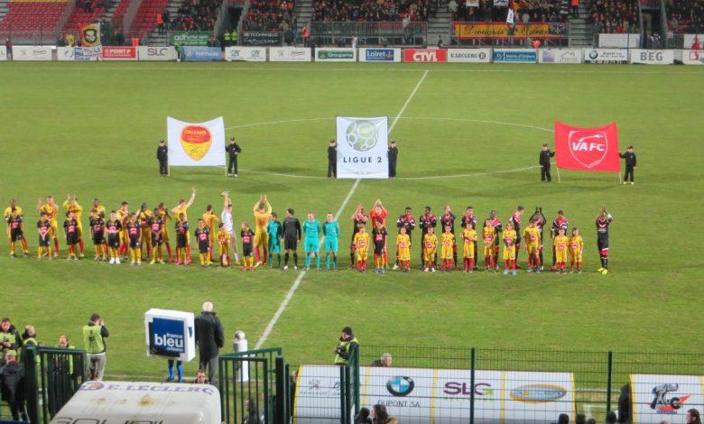 [Football : Ligue 2, 27ème Journée] : US Orléans Loiret Football 0-1 Valenciennes Football Club 1
