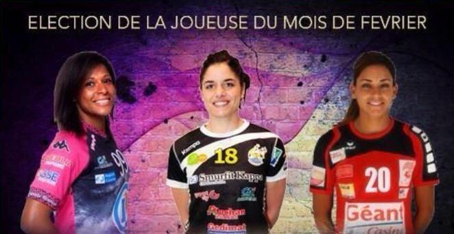 [Handball, Ligue Féminine de Handball] : Chloé Bulleux élue Joueuse du mois de Février 1