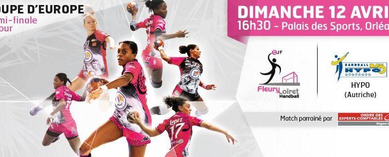 Handball : (Coupe d'Europe des vainqueurs de Coupe, 1/2 Finale Retour) : Fleury Loiret Handball 32-22 Hypo Nö 1