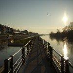 Être matinal pour le canal... 9