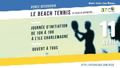Initiation Beach Tennis à l' Ile Charlemagne 3