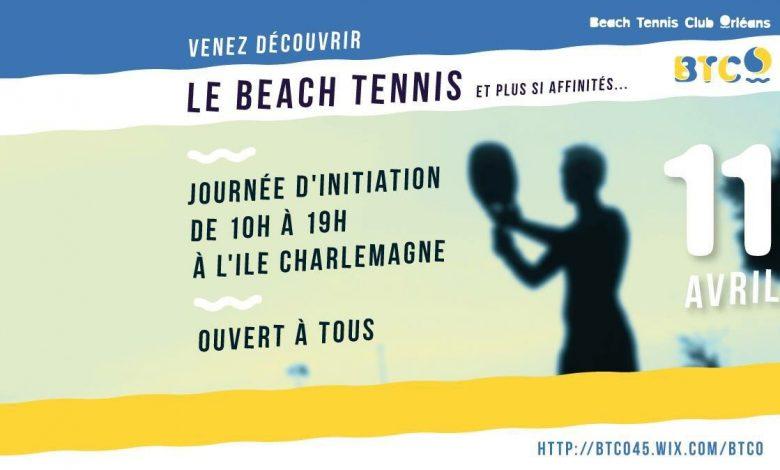 Initiation Beach Tennis à l' Ile Charlemagne 1