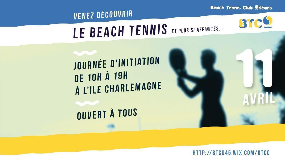 Initiation Beach Tennis à l' Ile Charlemagne 20