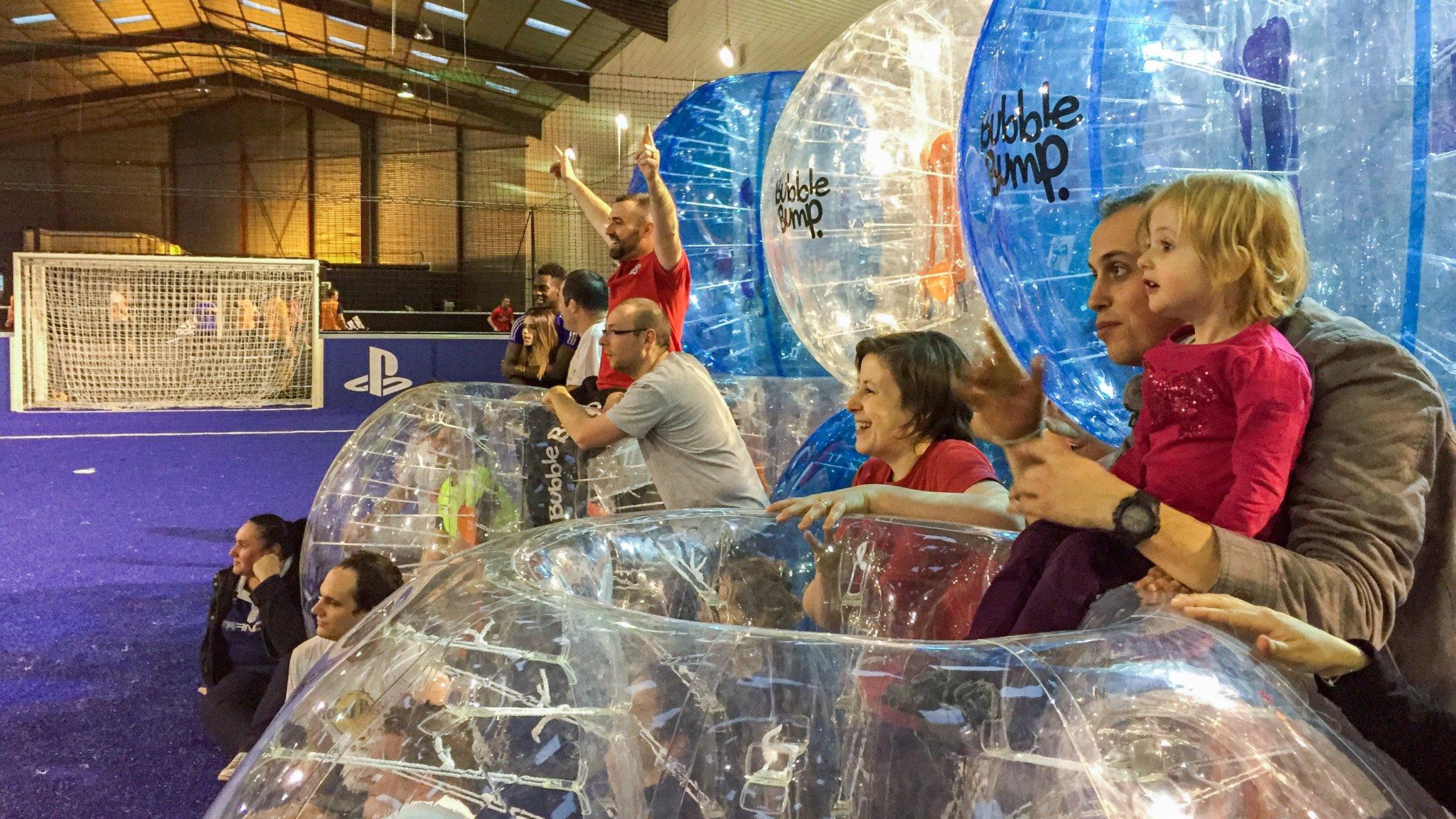 On a testé le Bubble Bump à Orléans 2