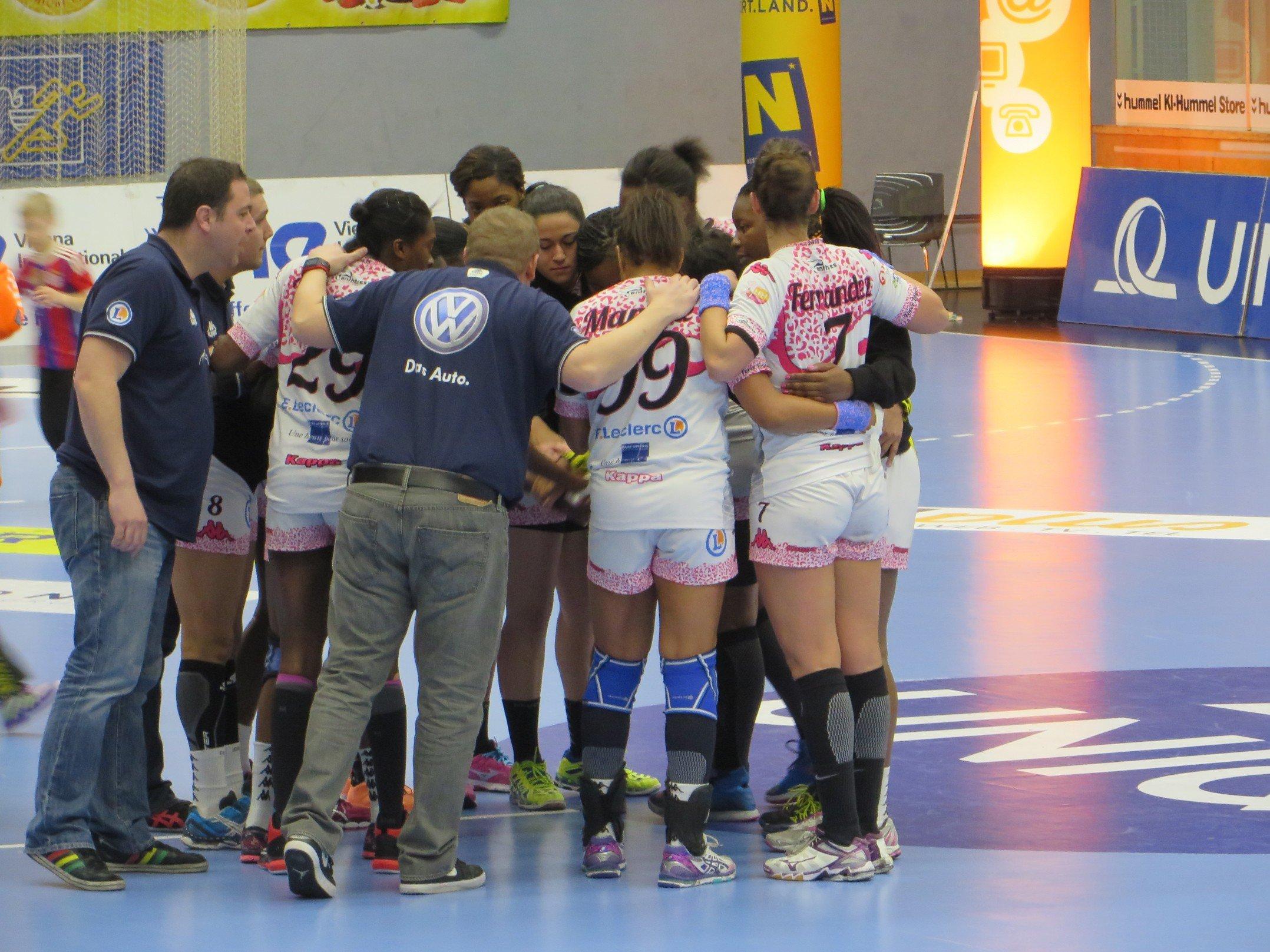 [Handball : Coupe d'Europe des Vainqueurs de Coupe] : Hypo Nö 20-32 Fleury Loiret Handball 2