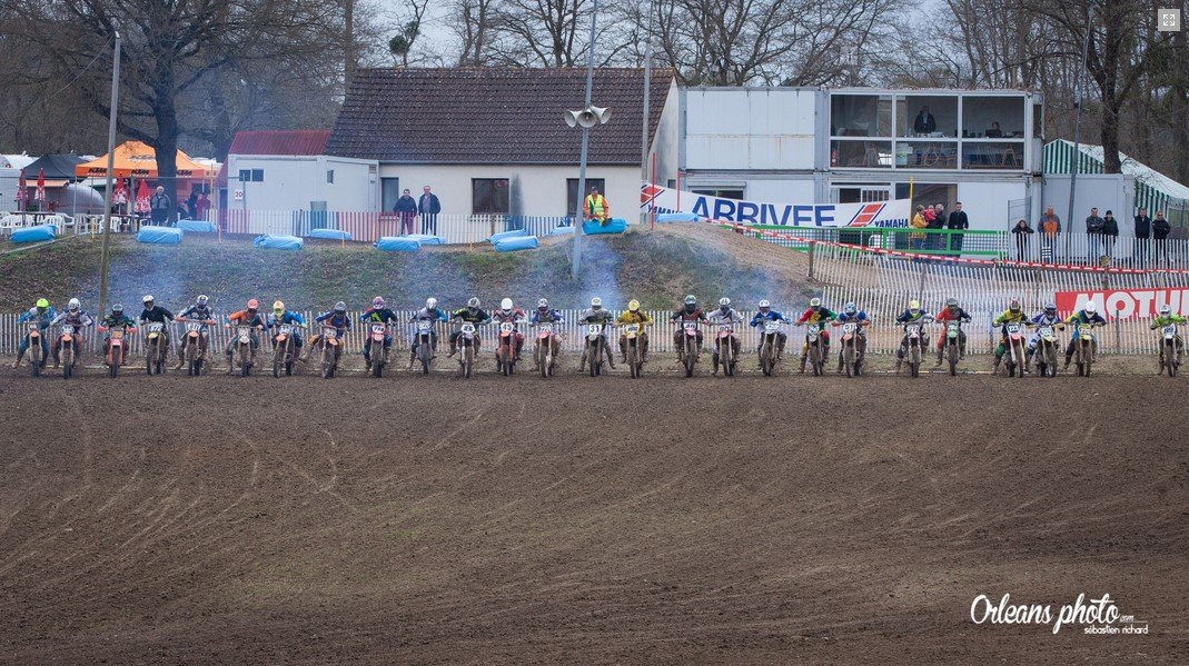 Orléans Photo Moto cross donnery