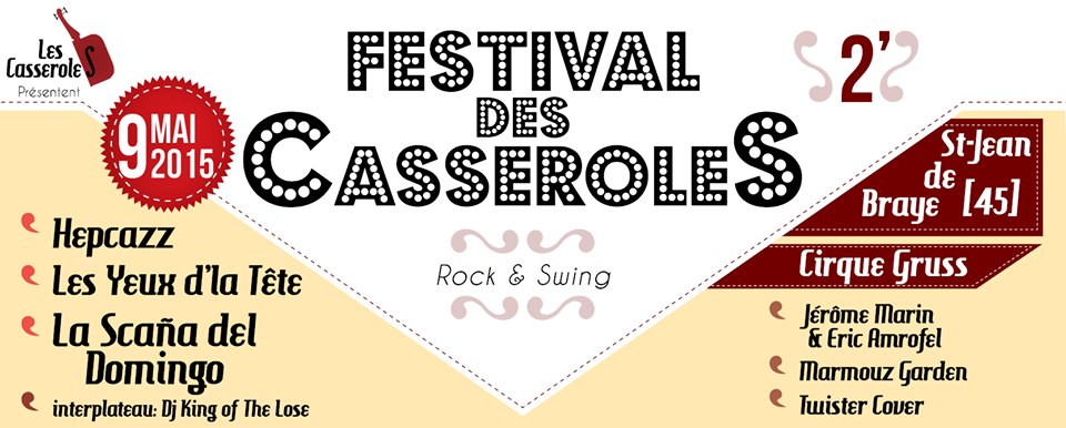 Festival des casseroles 2 Saint-jean de braye