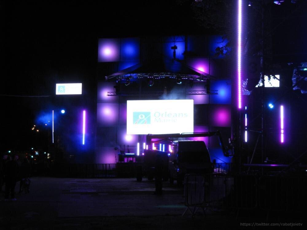 Les dernières répétitions nocturne pour le SET ELECTRO 7